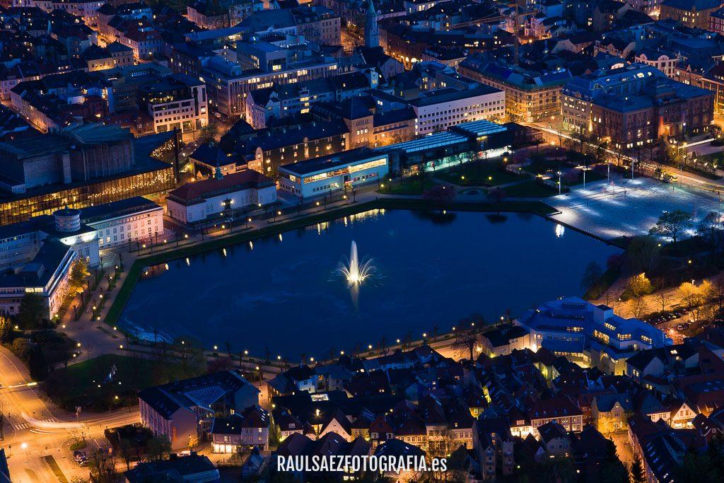 Parque de Bergen desde el mirador 17