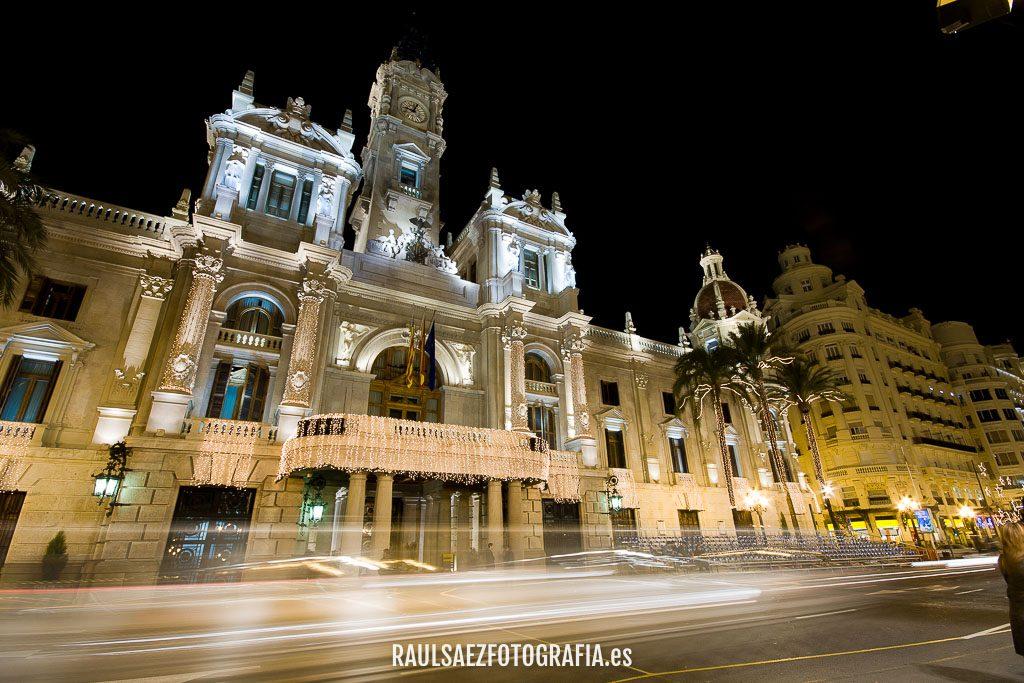 Ayuntamiento de Valencia navideño 2