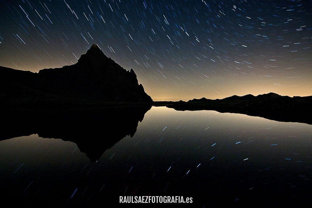 Ibon de Anayet bajo las estrellas 18