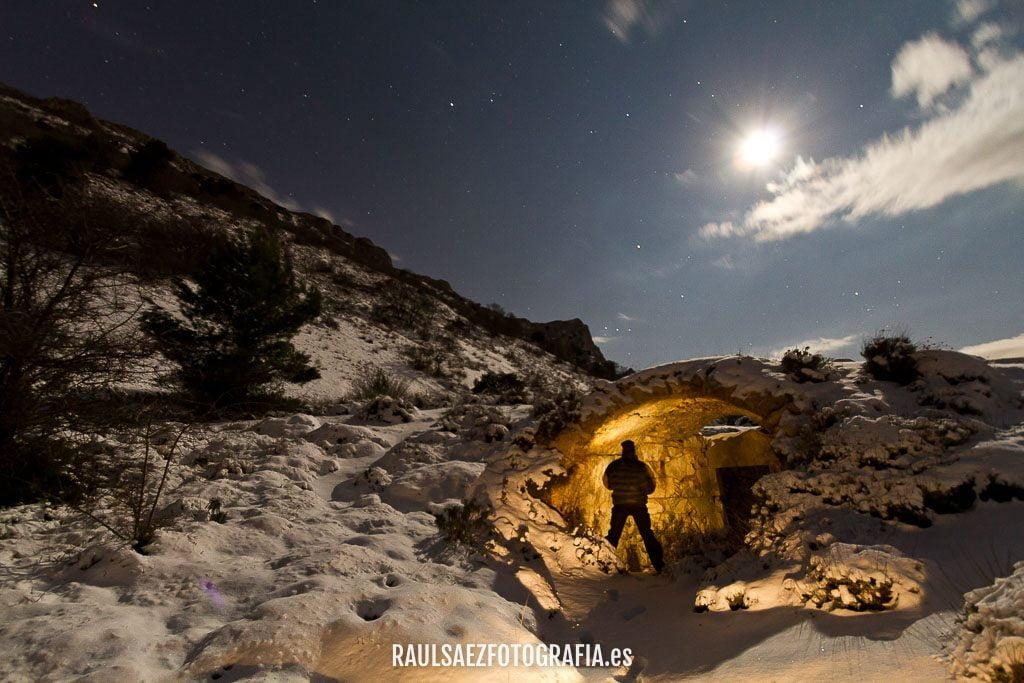 Pozo de nieve de la Aitana 16