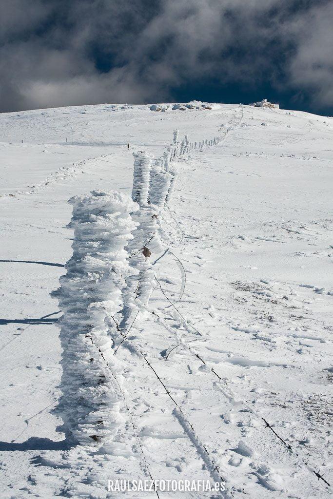 Nieves y vientos 19
