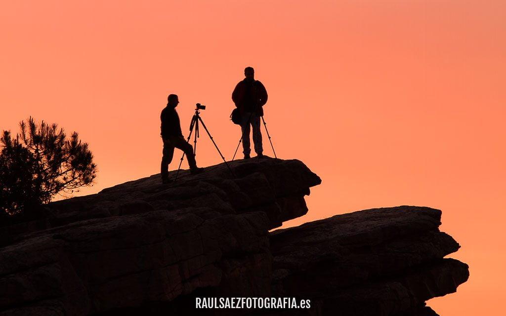 Fotografos al amanecer 2