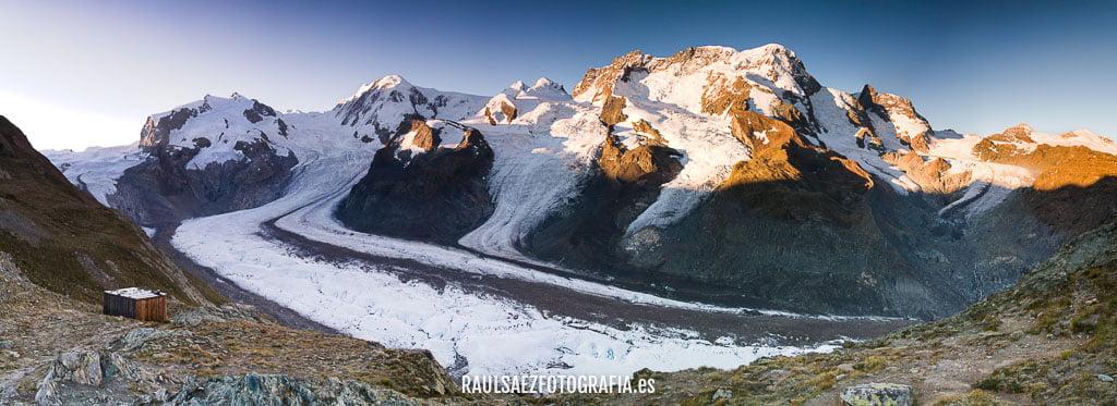 Glaciar del Gorner (Alpes Suizos) 0