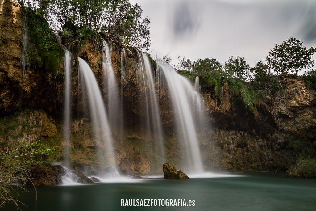 cascada, paisaje, rio