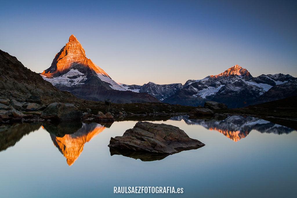 Primeras luces sobre el Matterhorn 3