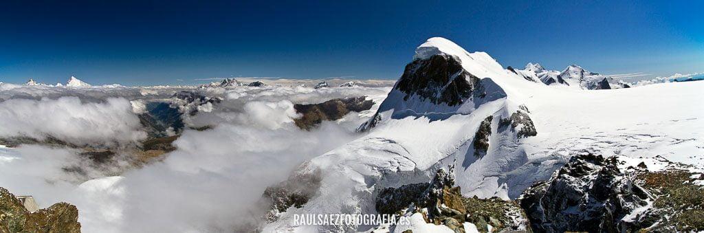 Panorámica del Breithorn y su glaciar 2