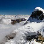 Panorámica del Breithorn y su glaciar