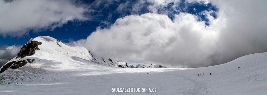 Panorámica del Plateau Rosa 10