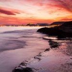 Atardecer en el Cabo Huertas de Alicante